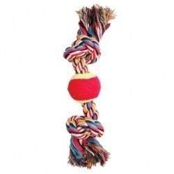 Игрушка Веревка 2 узла и мяч